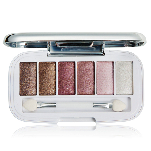 Professional Beauty 6 Color Eye Shadow Palette Cosmetic Makeup Kit Set