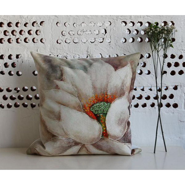 Fashion Suede 3D Printing Cushion Cover for Throw Pillow/Lumbar Pillow