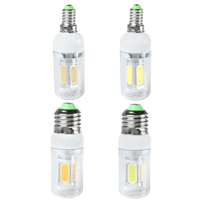 Bright 7.5W 450LM LED Cool White /Warm White Corn Light Lamp Bulb E14/E27