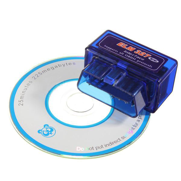 Mini ELM327 V1.5 Bluetooth OBD2 Interface Auto Car Diagnostic Scanner Tool