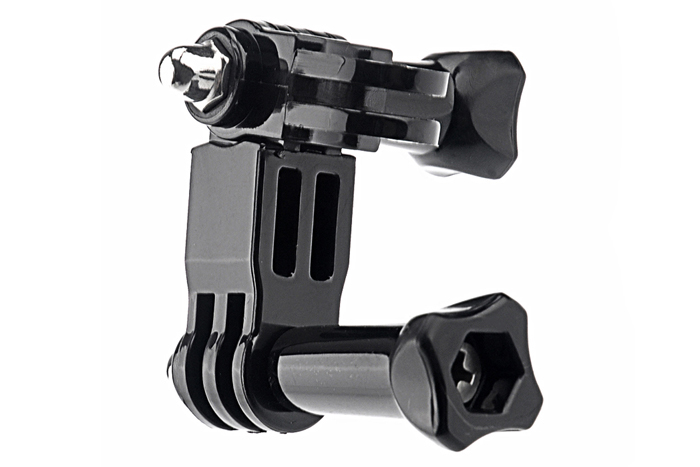 Three-way Adjustable Pivot Arm Tripod for GoPro Hero 1 2 3 Camera Accessory
