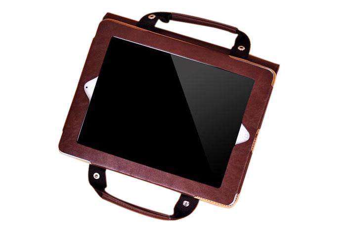 Portable Handbag Apple iPad Mini 2 Case Cover with Auto Wake/Sleep Feature