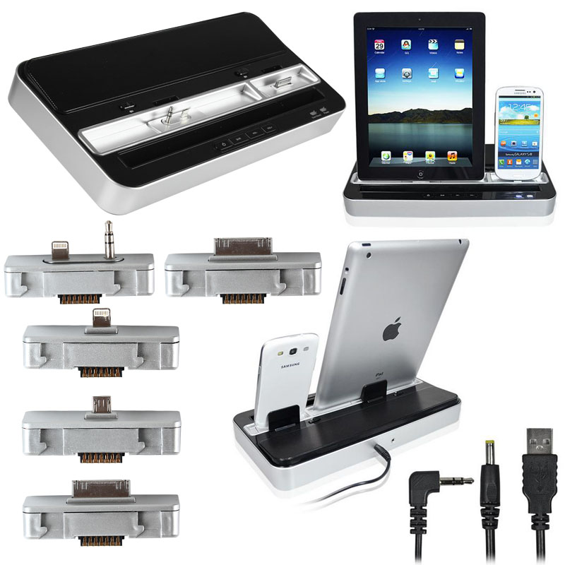 Docking Station Charger Speaker IPad/iPhone/iPod/Galaxy Music Playing Tool