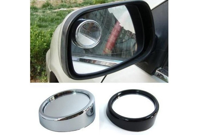 Adjustable Angle Car Rear View Aid Vehicle Round Rear View Convex Mirrors
