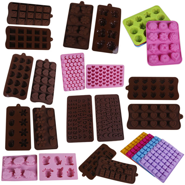 New Pro Silicone Cake Mould Mold with Different Shaped Pouches Kitchen Tool