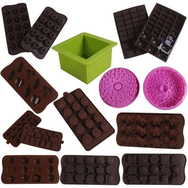 11Types New DIY Daily Used Silicone Cake Mold with Different Shaped Pouches