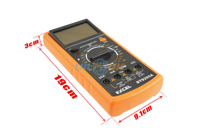 Digital Multimeter Electrical Ammeter ohm Volt Voltmeter Meter Tester