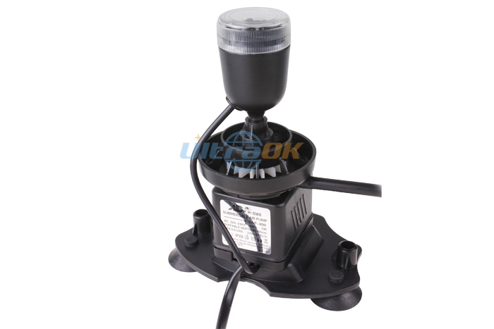LED Submersible Aerator Air Oxygen Pump For Aquarium Fish Tank Water