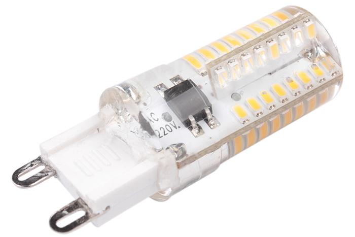 Wholesale Slim Mini 64 SMD LED Lamps light 360�Super Light Energy Saving Warm White