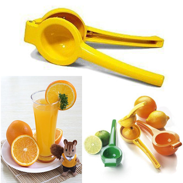 New Mini Manual Hand Held Lemon Squeezer Orange Citrus Press Juice Juicer