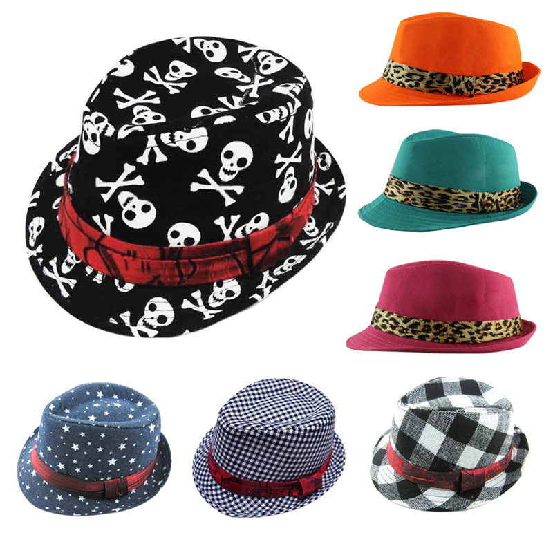 Fashion Unisex Chic Canvas Flat Top Jazz Cap Sun Cap for Baby Boys/Girls