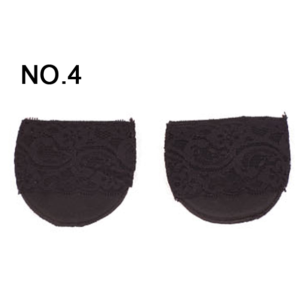 Wholesale Antiskid Thickened Ottomans Half Mat Invisible socks High-heeled Shoes Pad