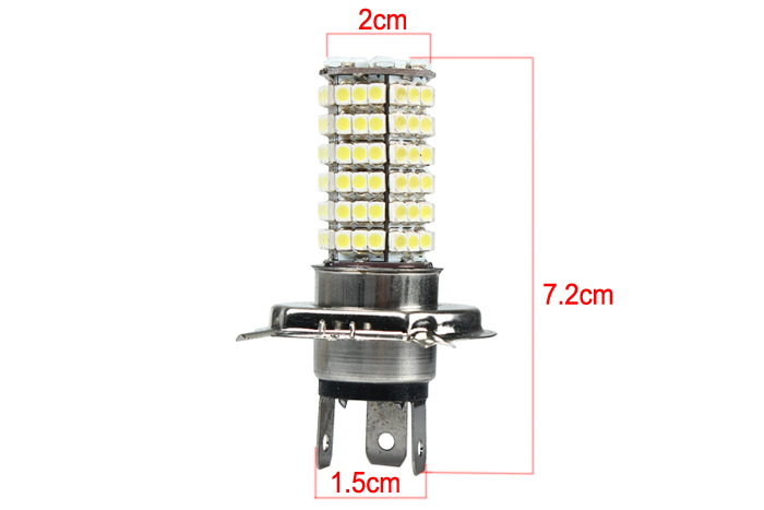 2 PCS New Car Pure White SMD LED Auto Side Indicator Light Bulb DC 12V