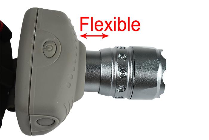 Wholesale High Power 3 Modes CREE Q5 LED Adjustable Focus Zoom Headlamp Headlight