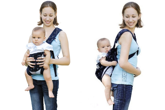 Multifunction Unique Infant Baby Carrier Sling Wrap Rider Comfort Backpack