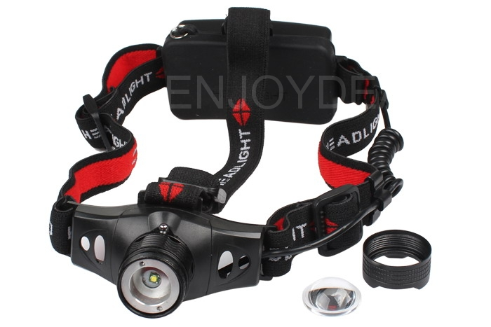 New Adjustable Focus 650 Lm CREE XP-G R5 LED Headlamp Head Light 18650/AAA