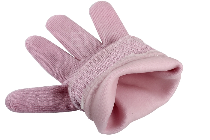 1 pair Soft Pink Gloves Whiten Skin Moisturizing Treatment SPA Gel Gloves