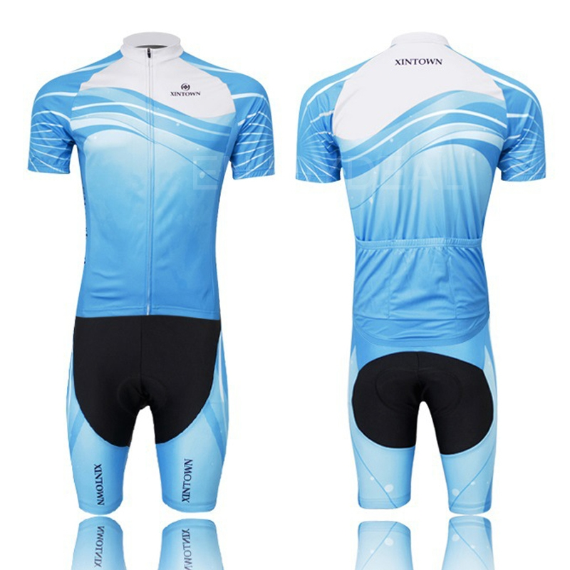 d43d02adfee ... Cycling Clothes Bike Bicycle Riding Short Suit Summer Clothing for  Sports ...