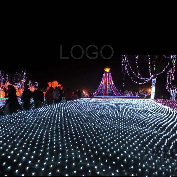 1.5x1.5M 96LED 110V Net String Light Lamp for Christmas Festive Decor White