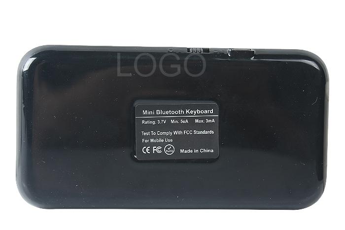 Mini Slim Wireless Bluetooth Keyboard for iPhone Smart Phone iPad PC PS3 HT