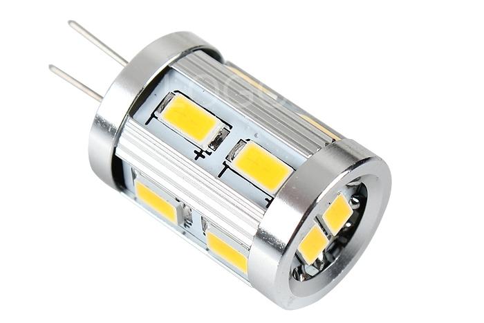 AC/DC 12V 3W G4 5630 SMD 12LED Light Lamp Bulb Warm White/Cool White Light
