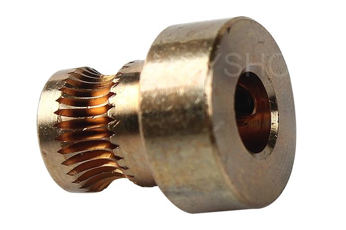 Useful 3D Printer Copper Gear Wheel Speed Wheel Squeeze Wire Filament Wheel