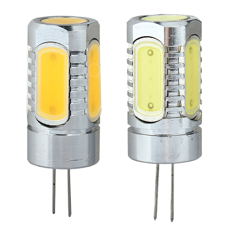 Durable High Power G4 COB Lamp 7.5W 5 x LED Bulbs Spotlight Lamp DC 12V