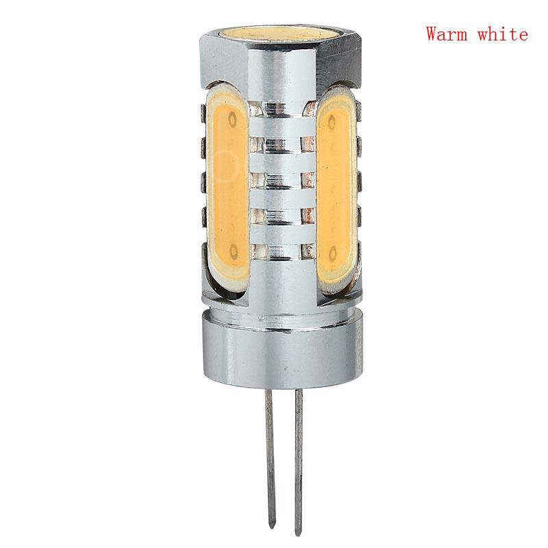 Wholesale High Power G4 COB Lamp 6W DC 12V 4 x LED Bulbs Spotlight Lamp Warm White