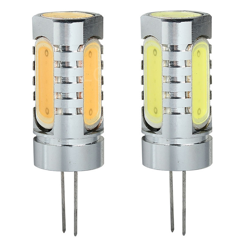 Durable High Power G4 COB Lamp 6W DC 12V 4 x LED Bulbs Spotlight Lamp