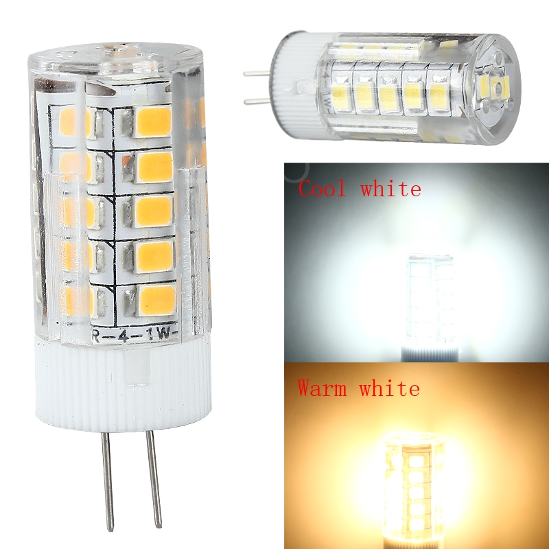 Ceramic Head G4 Socket 2835 SMD 33LED 12V 5W LED Car Light Spotlight Lamp