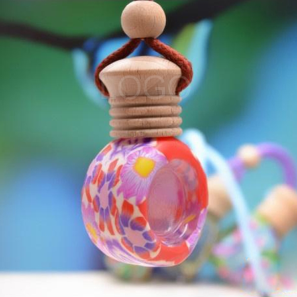 Handmade Perfume/Aromatherapy /Essential Oil Bottle Pendant Car Ornaments