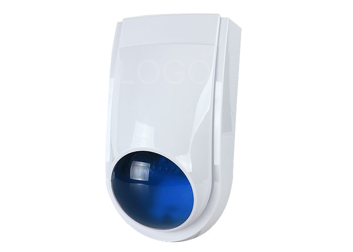 12 V LS-111 Outdoor Security Siren Strobe Alarm Audible and Visual Alarm