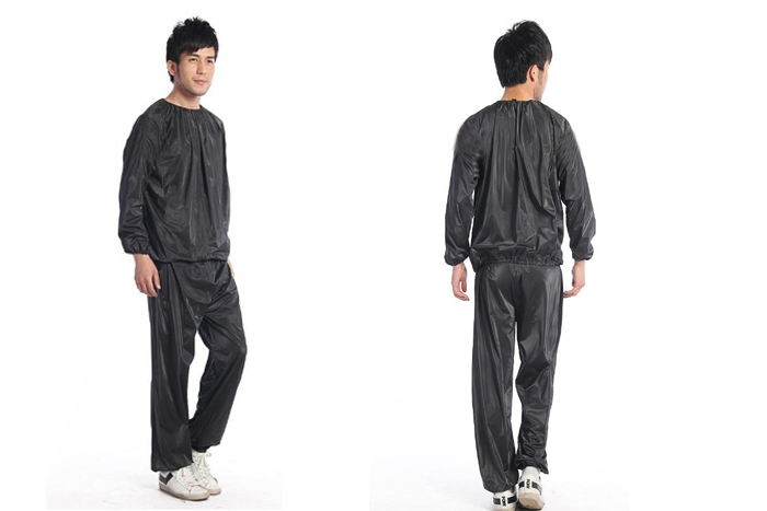 Gym Workout Yoga Exercise Unisex Sauna Sweat Suit Slim Down and Weight Loss