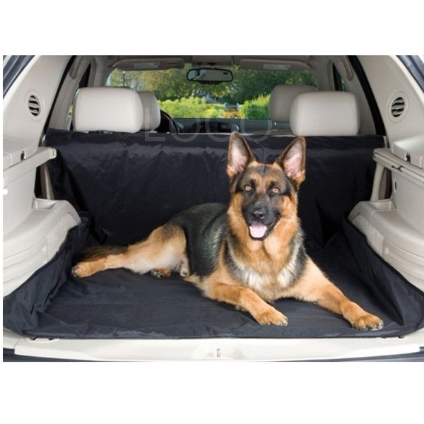 Durable Waterproof Pet Dog Car Boot Trunk Cover for Cars Trucks & SUV Black
