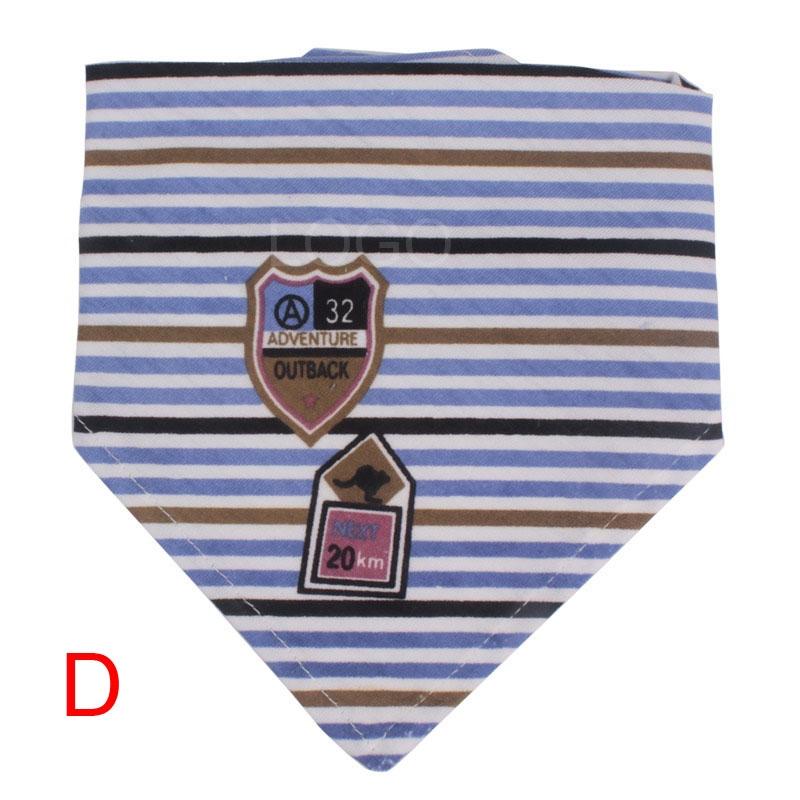 Useful kids multipurpose kerchief scarf/saliva towels/neckerchief Type D