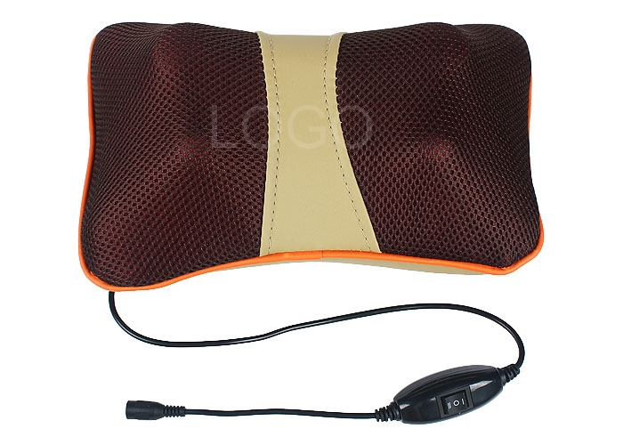 Electric Massager Pillow with Massage 4 Heads for Home Use and Car-driving