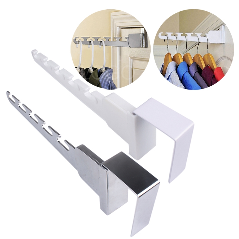 Durable Convenient Over Door Wonder Clothes Hanger Rack orgainzer for Home