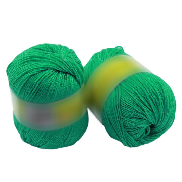 1pcs Skein Natural Silk Cashmere Knitting Wool Smooth Baby Woolen Yarn