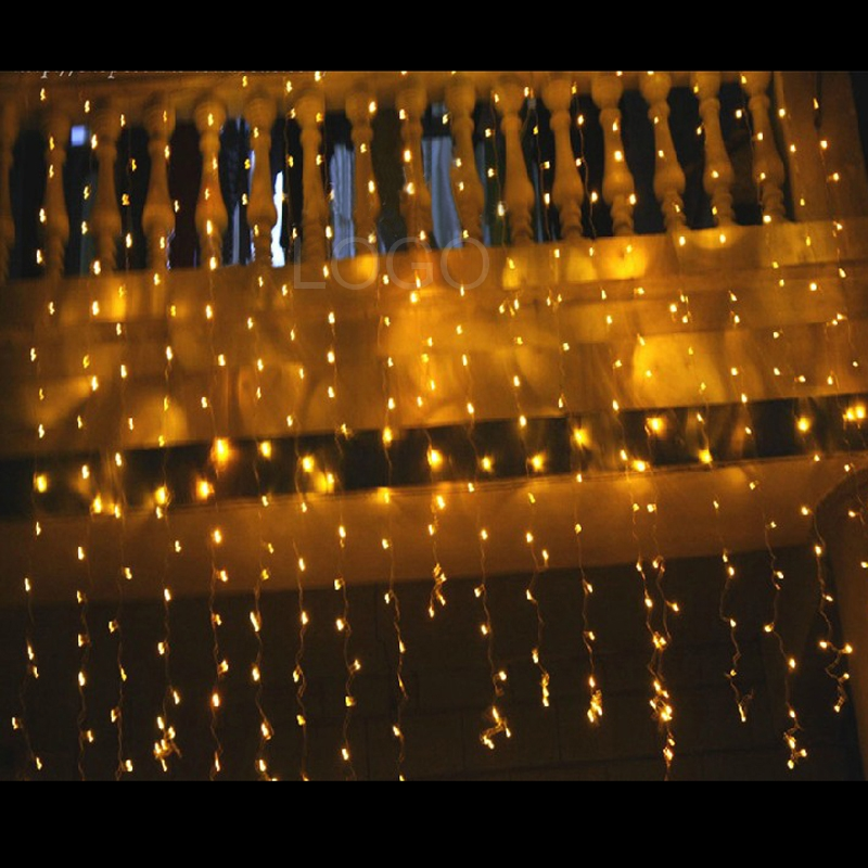 Super Festive Decoration 2x2m LED Indoor/Outdoor Net String Light Lamp Bulbs eBay
