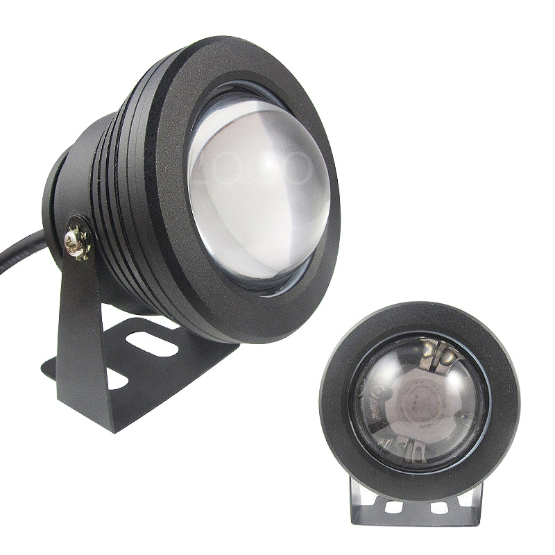 12v 10w unterwasser led flood pool waterproof light spot lampe outdoor 1 2 m ebay. Black Bedroom Furniture Sets. Home Design Ideas