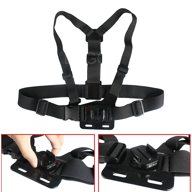 Gopro Accessories Chest Harness Chest Body Belt Strap Gopro Hero 1/2/3/3+