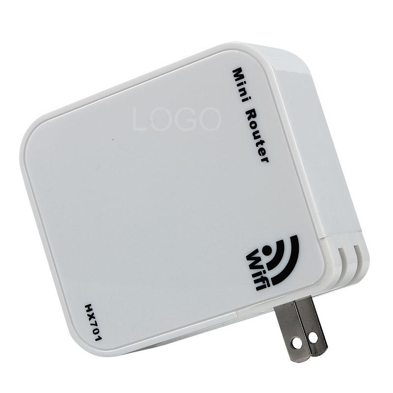 HX701 Portable Mini Wireless Wi-Fi Router AP Mode US Plug LAN/WAN Port