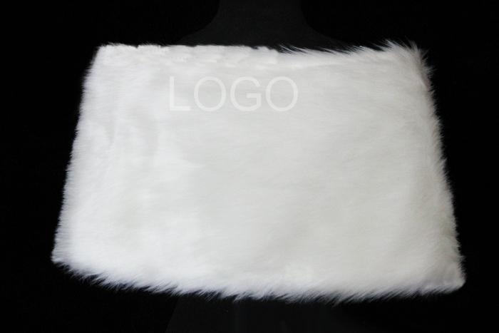 Women Shawl Manual Plush Tippet for Brides Wearing Wedding Dress in winter