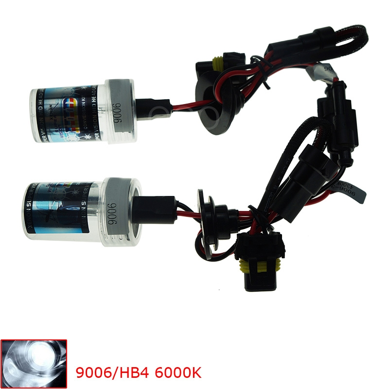 2pcs 55W Xenon HID Conversion Car Light Bulb Vehicle Replacement Headlight