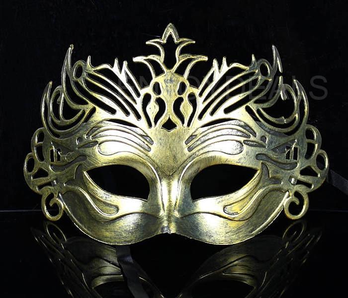 Vintage Roman Gladiator Style Ball Mask Crown Shaped Mask for Parties