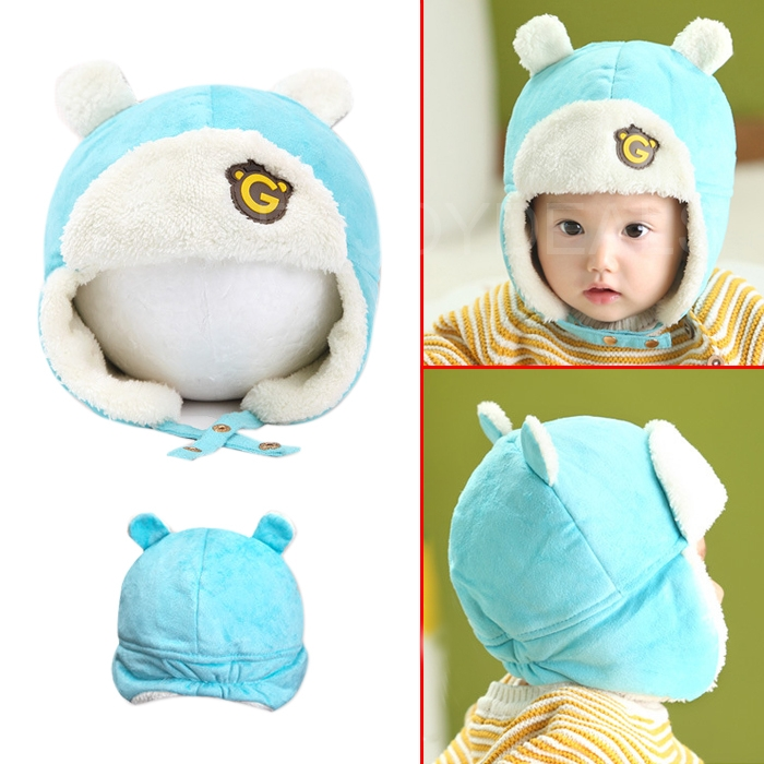 Fashion Cute Baby Kids Winter Warm Hat Earflap LEIFENG Cap Head Warmer