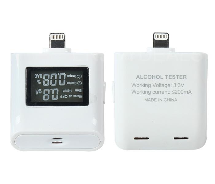USB Alcohol LCD Digital Tester Analyzer Breath Breathalyzer For iphone5