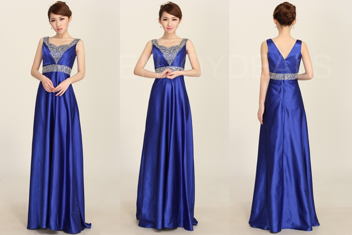 Long Formal Bridesmaid Wedding Party Evening Ball Cocktail Gown Dress