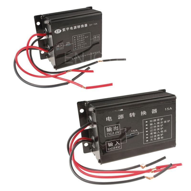 DC 24V to 12V Car Motor Power Converter Step Down Regulator