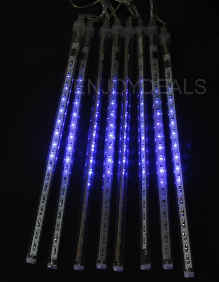 50cm 8tube 240led wasserdichte schneefall meteor led licht. Black Bedroom Furniture Sets. Home Design Ideas